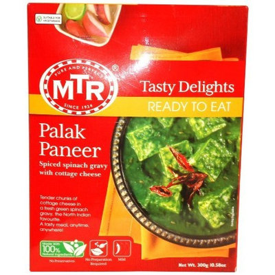 MTR Palak Paneer, 10.58 Ounce Boxes (Pack of 5)