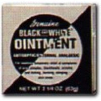STRICKLAND CO Black and White Ointment 2.25 oz. Soothing Tropical Treatment