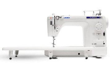 Juki TL2010Q Quilting Machine w/ Bradley Ultra Quilter Frame, Light & Quilter Cruise Control Stitch Regulator
