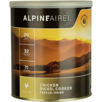 Alpine Aire Foods Chicken, Cooked/Diced, FD #10 Can