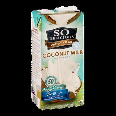So Delicious Dairy Free Coconut Milk Vanilla Sugar Free