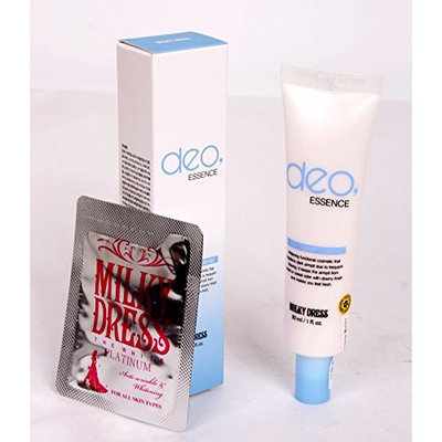 Milkydress Deo Essence 30ml Whitening Soft Armpit Cream + Gift Milky Dress