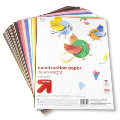 up & up Up & Up Construction Paper Assorted 200ct