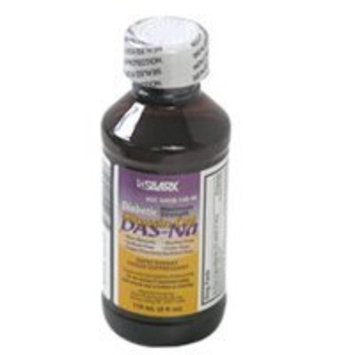 SILARX PHARMACEUTICALS Silarx Diabetic Maximum Strength Siltussin-DM DAS Sodium Cough Relief Syrup, 4 Oz