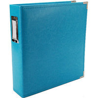 We R Memory Keepers Faux Leather 3-Ring Binder - Cinnamon (8.5x11
