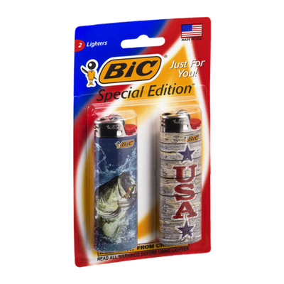 BIC Lighters Special Edition - 2 CT