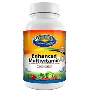 Divine Health Enhanced Multivitamin 120 capsules