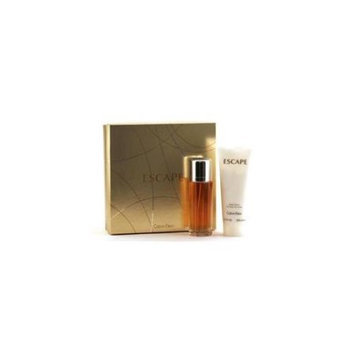 CALVIN KLEIN 12510843 ESCAPE SET - 3.3 OZ SPR - 6.8OZ BODY LOTION