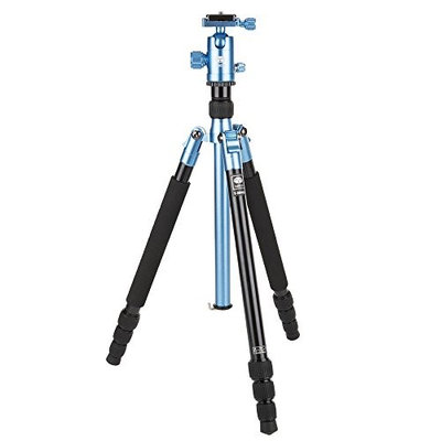 Sirui T-004X 4-Section Aluminum Tripod with C-10X Ball Head, 13.2lbs Capacity, 58