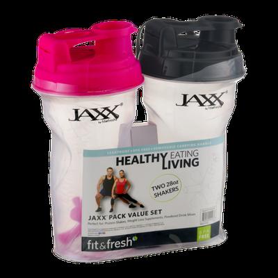 Fit & Fresh 28oz Shakers Jaxx Pack Value Set - 2 CT