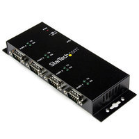 StarTech USB to 4-Port Straight-Through RS232 Serial Adapter