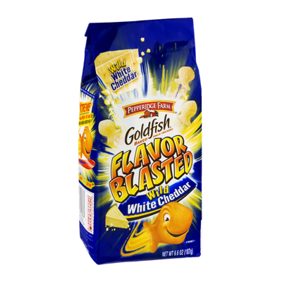 Goldfish® Blasted Wild White Cheddar Snack Crackers
