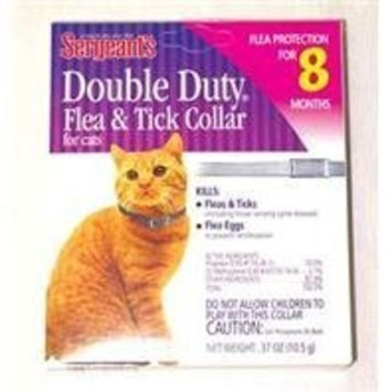 Sergeant S Pet Products P Double Duty Flea & Tick Collar For Cats