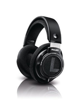 PHILIPS SHN9500 Circumaural Active Noise Canceling Headphone Premium Full Size w Travel Case