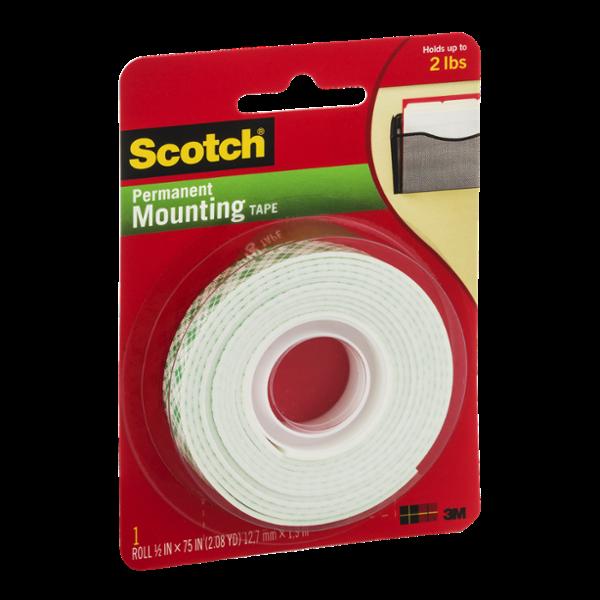 Scotch Permanent Mounting Tape