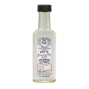 Jr Watkins J.R. Watkins Body Oil, Lavender, 2-Ounce Bottles (Pack of 3)