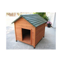 Crown Pet Products Classic Cedar Dog House Size: Large (39.9