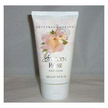 Crabtree Evelyn Evelyn Rose Body Cream 3.4oz