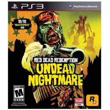 Take-two Interactive Red Dead Redemption Undead Nightmare PRE-Owned (PlayStation 3)