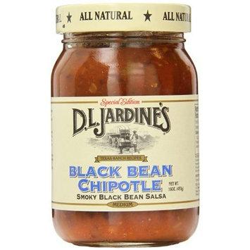 D.L. Jardine's Black Bean Chipotle Salsa, Medium, 16 Ounce