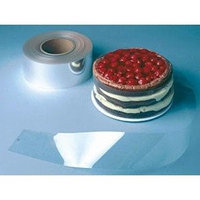 Plastic Suppliers Plastic Cake Wraps, One 500-Foot Roll - 4 (100mm)