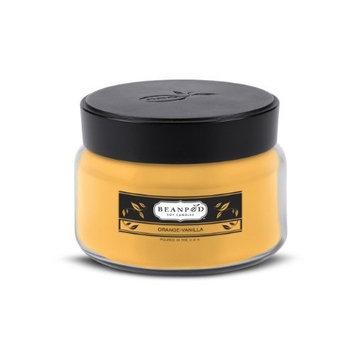 Beanpod Candles, Orange Vanilla, 8-Ounce