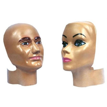 Costumes For All Occasions MA186 Headform Face Cover Male