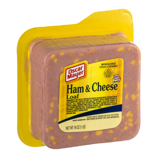 Oscar Mayer Ham & Cheese Loaf