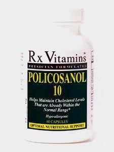 Rx Vitamin's Policosanol 10 60 caps