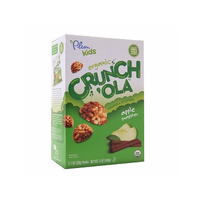 Plum Organics Plum Kids Crunch'Ola Apple Snapster