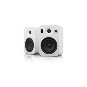 Kanto Distribution Kanto YUMIWGL YUMI Powered Speaker system with Integrated Bluetooth Technology - White Gloss