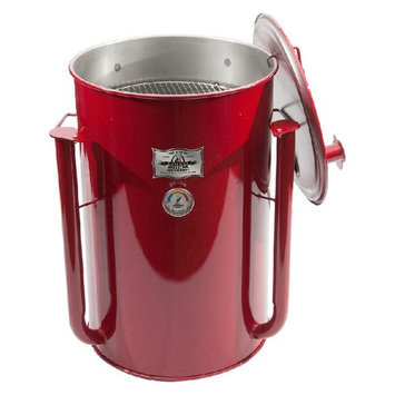 Adventure Marketing Group Inc Gateway 55 Gallon Drum Charcoal Smoker Red