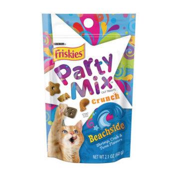 Friskies Party Mix Cat Treats - Beachside Crunch,  2.1 oz
