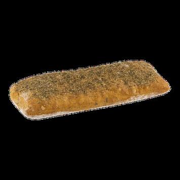 La Boulangerie Bakery & Cafe Ciabatta Petite Loaf Herb 9 Inch