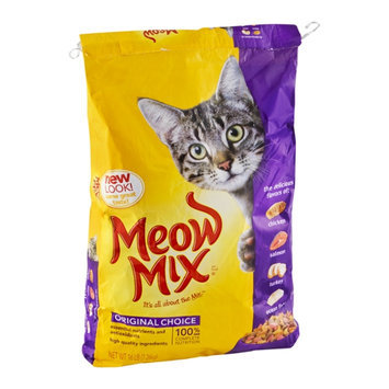 Meow Mix Cat Food Original Choice