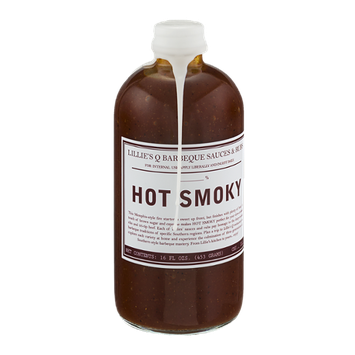 Lillie's Q Barbeque Sauces & Rubs Hot Smoky