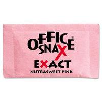 Office Snax Nutrasweet Pink Sweetener, 2000 Packets/Carton