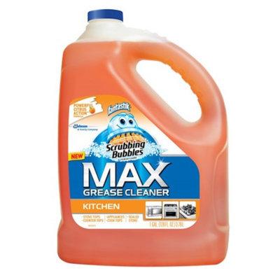 Scrubbing Bubbles Max Grease Cleaner Kitchen Refill, 128 fl oz