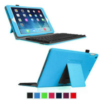 Fintie Ultra Thin Folio Key Removable Bluetooth Keyboard Case Cover for iPad Air 5 (5th Generation), Blue