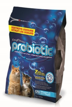 Horseloverz Easy Clean Probiotic Clumping Multi-Cat Litter