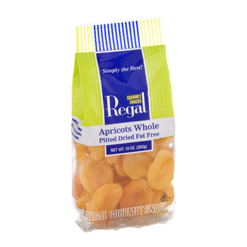 Regal Apricots Whole Pitted Dried Fat Free
