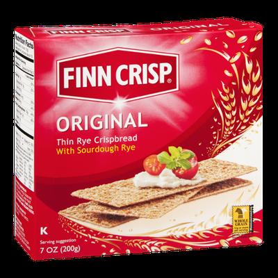 Finn Crisp Thin Rye Crispbread Original