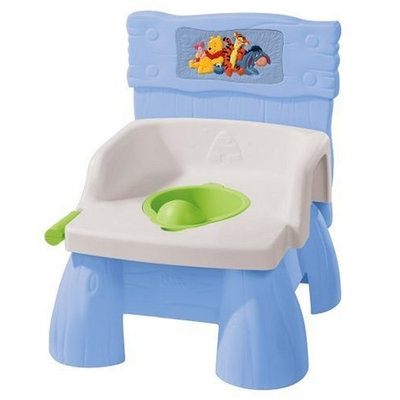 The First Years Disney Pooh Flush 'N Sounds Potty (Discontinued by Manufacturer)