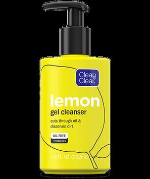 Clean & Clear® Lemon Gel Cleanser
