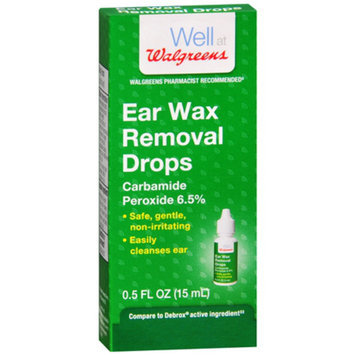 Walgreens Ear Wax Removal Drops