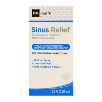 DG Health Sinus Relief, 0.5 oz
