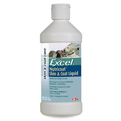 8In1 Pet Products Excel Nutricoat Skin and Coat Supplement