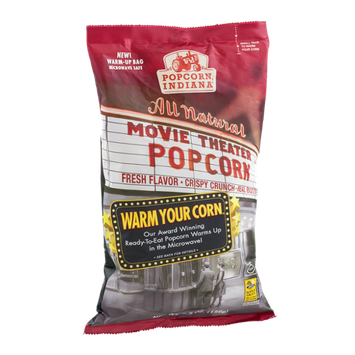 Popcorn, Indiana All Natural Movie Theater Popcorn