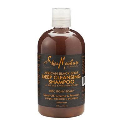 SheaMoisture African Black Soap Deep Cleansing Shampoo