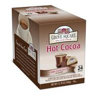 Grove Square Hot Cocoa, Dark Chocolate, 24 Single Serve Cups